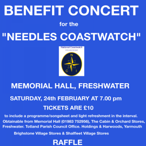 Needles Coastwatch (NCI) 2018 Annual Charity Fundraiser Tickets