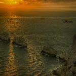 Needles Sunset 2 by Isle of Wight Photographic Society
