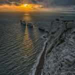 Needles Sunset by Isle of Wight Photographic Society